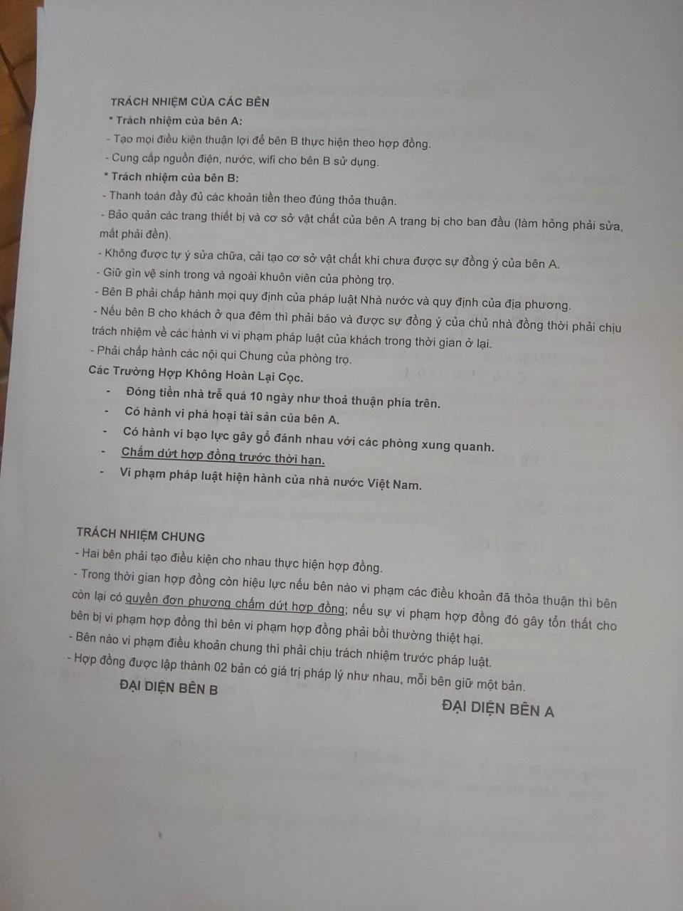 Sinh viên thuê trọ: Cảnh giác nhà trọ An Bình quận Gò Vấp